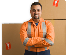 Worker With Boxes